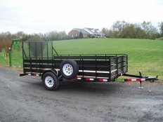 Mike's 6 X 12 Utility Trailer Slat Sides