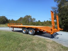 Mike's 7 Ton 8 Wide Equipment Trailer