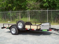 Mike's 5 X 10 Motor Cycle Trailer