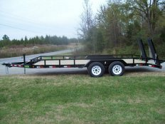 Mike's 6 X 16 Utility Trailer-Spring loaded Ramps