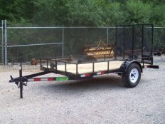 Mike's 5 X 10 Utility Trailer-Rail Sides