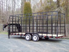Mike's Gooseneck Pine Needle Trailer