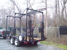 Mike's Custom Hoist Trailer