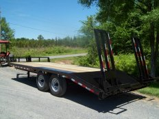 Mike's 6 Ton 8 Wide Equipment Trailer