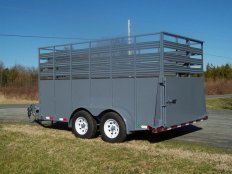 Mike's 12 Foot Livestock Trailer