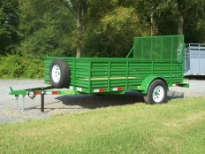 Mike's 6 X 10 Utility Trailer-Slated Sides