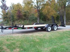 Mike's MSE 16 5 Ton Equipment Trailer