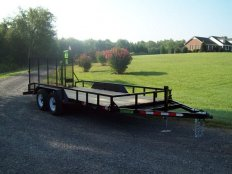 Mike's L & G 16 Landscape Trailer