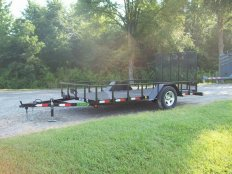 Mike's 6 X 12 Utility Trailer-Gate Ramp