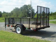 Mike's 5 X 10 Utility Trailer-Wire Mesh Sides