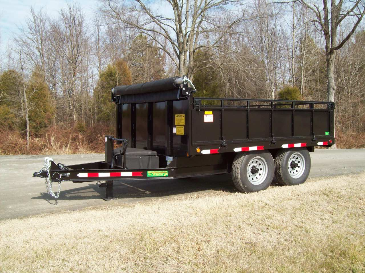Mike S 8 X 10 Dump Trailer Mikes Welding Amp Trailer Mfg